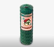 Grillage plastifié ASTROPLAX maille de 100x75mm haut.1,50m long.25m vert - Portail coulissant MERLIN en aluminium Haut.1,60m larg.entre piliers 4,00m motorisable Coloris gris - Gedimat.fr