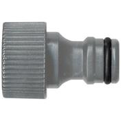 Nez de robinet automatique femelle en plastique diam.26x20mm - Tuyaux d'arrosage - Aménagements extérieurs - GEDIMAT