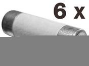 Cartouche fusible céramique cylindrique sans témoin de fusion 6 pièces assorties - Fusibles - Electricité & Eclairage - GEDIMAT