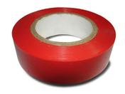 Ruban adhésif isolant électrique long.10m larg.15mm coloris rouge - Outillage de l'électricien - Electricité & Eclairage - GEDIMAT