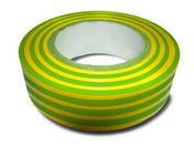 Ruban adhésif isolant électrique long.10m larg.15mm coloris vert/jaune - Outillage de l'électricien - Electricité & Eclairage - GEDIMAT