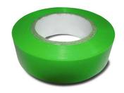 Ruban adhésif isolant électrique long.10m larg.15mm coloris vert - Outillage de l'électricien - Outillage - GEDIMAT