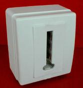 Prise téléphone série BEJING femelle en T à 8 contacts coloris blanc - Poêle à bois GAYA ARDOISE 12kW - Gedimat.fr