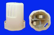 Douille de chantier nylon testeur d'installation culot baïonnette B22 en lot de 5 pièces - Fiches - Douilles - Adaptateurs - Electricité & Eclairage - GEDIMAT