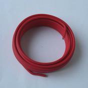 Câble électrique rigide unifilaire H07VU diam.6mm² coloris rouge en couronne de 5m - Porte d'entrée PVC FERMETTE avec isolation totale de 140 mm gauche poussant haut.2,15m larg.90cm blanc - Gedimat.fr