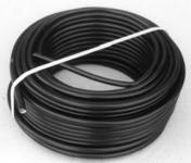 Câble électrique H07RNF section 3G1,5mm² coloris noir vendu à la coupe au ml - Fils - Câbles - Electricité & Eclairage - GEDIMAT