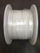 Câble coaxial pour antenne télévision type 17PATCA diam.6,8mm coloris blanc vendu à la coupe au ml - Fils - Câbles - Electricité & Eclairage - GEDIMAT