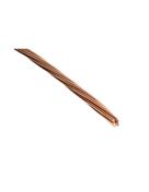 C�ble �lectrique de terre cuivre nu diam.25mm� vendu � la coupe au ml - C�ble �lectrique unifilaire cuivre H07VU section 1,5mm� coloris bleu en bobine de 100m - Gedimat.fr