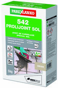 Joint de carrelage PROLIJOINT SOL 542 sac de 5kg coloris beige - Enduit de parement traditionnel PARDECO TYROLIEN sac de 25kg coloris O113 - Gedimat.fr