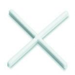 Croisillons pour joints larg.1mm sachet de 300 pièces - Couvre joint dilatation TOFFOLO modèle angle en aluminium ép.5mm long.3m larg.6cm - Gedimat.fr