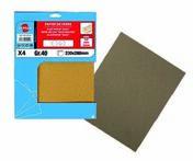 Lot de 8 feuilles papier de verre 230 x 280 grain 120 par 15 lots - Dalle pierre naturelle Bluestone tambourinée Chine ép.2cm dim.15x15cm coloris bleutée - Gedimat.fr