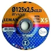 Lot de 5 disques métal 115x2,5 md reflex gamme orange - Poutrelle en béton LEADER 114 haut.11cm larg.9,5cm long.4,60m coutures - Gedimat.fr