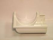 Angle intérieur/extérieur à 90° pour gouttière PVC NICOLL ANC25B à coller de 25 coloris blanc - Tuile et 1/2 fin gauche à recouvrement BEAUVOISE coloris vallée de Chevreuse - Gedimat.fr