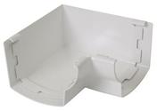 Angle intérieur pour gouttière PVC corniche moulurée NICOLL OVATION 28 AIC28B angle 90° coloris blanc - Poutrelle en béton PERFORMANCE 136SE haut.13cm larg.10cm long.4,20m - Gedimat.fr