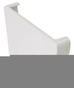 Fond gauche pour gouttière PVC moulurée NICOLL OVATION 28 FG28B coloris blanc - Carrelage pour mur en faïence GARDEN dim.25x40cm coloris malva - Gedimat.fr