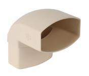 Coude pour tube de descente de gouttière NICOLL OVATION 28 CN8GTS section 90x56mm mâle femelle angle 87°30 coloris sable - Poutrelle en béton LEADER 114 haut.11cm larg.9,5cm long.5,20m - Gedimat.fr