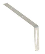 Hampe galvanisée droite pour crochet de gouttière PVC long.développée 335mm - Accessoires de fixation - Couverture & Bardage - GEDIMAT