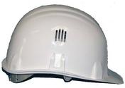 Casque de chantier BRENNUS blanc - Protection des personnes - Vêtements - Outillage - GEDIMAT