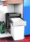Poubelle rectangulaire 20L haut.39,8cm larg.25,5cm prof.45cm coloris gris/beige - Enduit de parement traditionnel PARDECO TYROLIEN sac de 25kg coloris B02 - Gedimat.fr