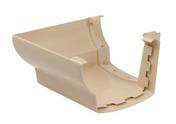 Angle extérieur pour gouttière PVC corniche moulurée NICOLL OVATION 38 AEC38S angle 90° coloris sable - Plaque fibres-gypse FERMACELL GREENLINE 2BA ép.12,5mm larg.0,60m long.2,60m - Gedimat.fr