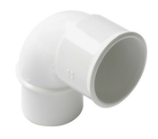 Coude PVC d'évacuation d'eau usée NICOLL mâle-femelle diam.32mm angle 87°30 coloris blanc - Olive laiton bicone pour tube diam.10mm - Gedimat.fr