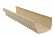 Gouttière PVC à coller NICOLL OVATION LG38S long.4m coloris sable - Raccord de remplacement pour fenêtre VELUX sur tuiles EW MK08 type 0000 haut.1,40m larg.78cm - Gedimat.fr