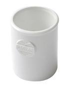 Manchon PVC NICOLL femelle-femelle à butée intérieure diam.32mm coloris blanc - About à recouvrement de faîtière ronde ventilée pour tuiles TERREAL coloris pays d'auge - Gedimat.fr