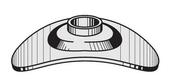 Plaquette galvanisée pour tôle ondulée, dim.40x28x7,5mm - boite de 100 pièces - Plaques de couverture - Couverture & Bardage - GEDIMAT