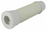 Pipe souple droite de sortie de WC diam.100mm long.400mm coloris blanc en sachet 1 pièce - Evacuation de WC - Plomberie - GEDIMAT