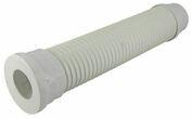 Pipe souple droite de sortie de WC diam.100mm long.570mm coloris blanc en sachet 1 pièce - Evacuation de WC - Plomberie - GEDIMAT