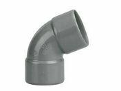 Coude d'évacuation en PVC à 67°30 femelle-femelle diam.32mm - Peinture acrylique CARRELAGE sans sous-couche bidon de 0,75 litre coloris gris perle brillant - Gedimat.fr