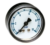 Manomètre pour réducteur de pression 0-10 bars - About d'arêtier angulaire sans emboîtement coloris Hermitage - Gedimat.fr