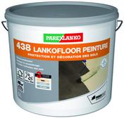 Peinture de protection et de décoration des sols 438 LANKOFLOOR PEINTURE seau de 5 L coloris gris ciment - Gedimat.fr