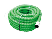 Gaine TPC annelée en polyéthylène coloris vert diam.40mm en rouleau de 25m - Lambris PVC ELEMENT COMPACT aboutable ép.8mm larg.375mm long.1,20m blanc mat - Gedimat.fr