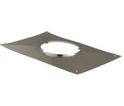 Plaque supérieure d'étanchéité rectangle pour tuyau de diam.200mm - Tubages rigides - Couverture & Bardage - GEDIMAT