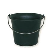 Seau de maçon Ecochok noir - 11l - Truelle langue de chat acier manche bois CAZZUOLA long.12cm - Gedimat.fr