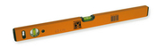 Niveau profil rectangulaire aluminium époxy 100cm orange - Panneau de Particule Surfacé Mélaminé (PPSM) ép.19mm larg.2,07m long.2,80m Laser finition Perlé - Gedimat.fr