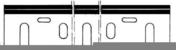 Jeu de 2 fers rabot HSS 170x35x3 makita - Outillage du menuisier - Menuiserie & Aménagement - GEDIMAT