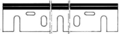 Jeu de 2 fers rabot HSS 170x35x3 makita - Outillage du menuisier - Revêtement Sols & Murs - GEDIMAT