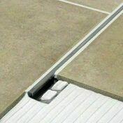 Arrêt droit inox poli ép.10mm - 2,5m - Accessoires pose de carrelages - Revêtement Sols & Murs - GEDIMAT