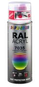 Bombe de peinture RAL 7035 Gris clair - Brillant Duplicolor - Bombes de peinture - Peinture & Droguerie - GEDIMAT