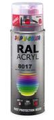 Bombe de peinture RAL 8017 Brun chocolat - Brillant Duplicolor - Bombes de peinture - Peinture & Droguerie - GEDIMAT