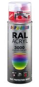 Bombe de peinture RAL 3000 Rouge feu - Brillant Duplicolor - Bombes de peinture - Peinture & Droguerie - GEDIMAT