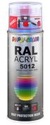 Bombe de peinture RAL 5012 Bleu clair - Brillant Duplicolor - Bombes de peinture - Peinture & Droguerie - GEDIMAT
