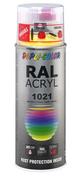 Bombe de peinture RAL 1021 Jaune colza - Brillant Duplicolor - Bombes de peinture - Peinture & Droguerie - GEDIMAT