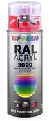 Bombe de peinture RAL 3020 Rouge signalisation - Brillant Duplicolor - Bombes de peinture - Peinture & Droguerie - GEDIMAT