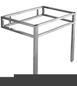 Console GALEO haut.73cm larg.55cm long.73cm inox - Vasques - Plans vasques - Salle de Bains & Sanitaire - GEDIMAT