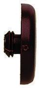 Capuchon cache-tête plat FISCHER série ADW à recouvrement brun 100 pièces - Clouterie - Visserie - Quincaillerie - GEDIMAT