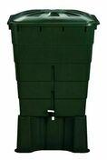 Support pour cuve à eau rectangulaire vert 300 litres H.33 cm - Stabilisateur de graviers 80cm x 120 cm - Gedimat.fr