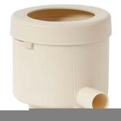 Collecteur d'eau de pluie filtrant éco de luxe diamètre prédécoupé 80/100mm coloris sable - Radiateur à inertie sèche PANARO Blanc 2000W modèle cintré DELTACALOR - Gedimat.fr
